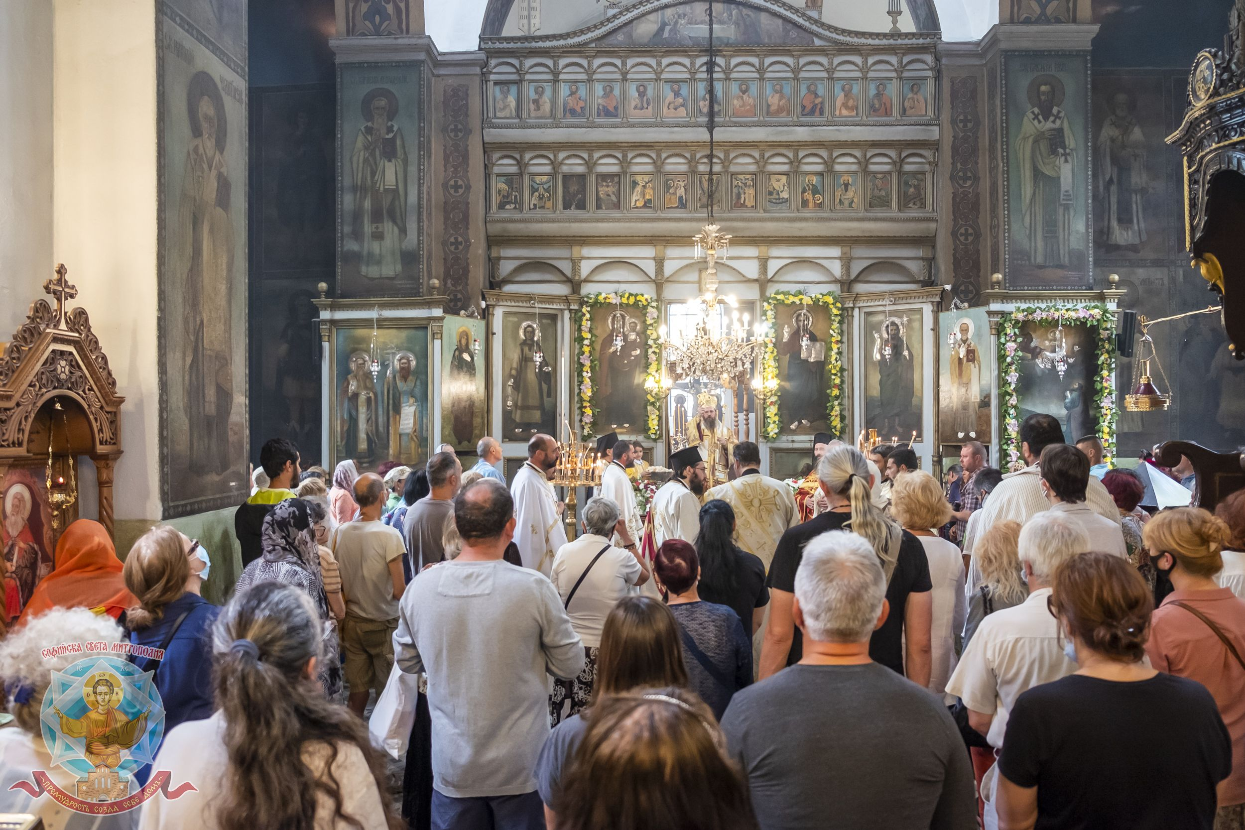 """Празникът на св. пророк Илия и на храма в столичния кв. """"Княжево"""" бе отбелязан с архиерейска св. Литургия"""